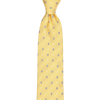 CEO Made In Italy Tie in Yellow - Ron Bennett Menswear  - 1