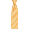 CEO Made In Italy Tie in Orange - Ron Bennett Menswear  - 1