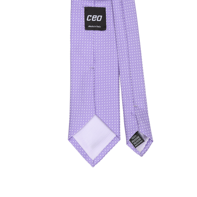 CEO Made In Italy Tie in Mauve - Ron Bennett Menswear  - 2