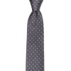 CEO Made In Italy Tie in Charcoal - Ron Bennett Menswear  - 1