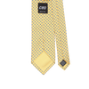 CEO Made In Italy Tie in Yellow Dot - Ron Bennett Menswear  - 2
