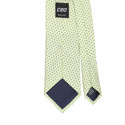 CEO Made In Italy Tie in Lime - Ron Bennett Menswear  - 2