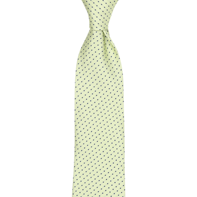 CEO Made In Italy Tie in Lime - Ron Bennett Menswear  - 1