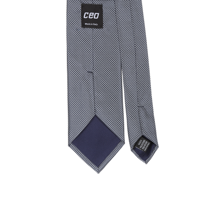CEO Made In Italy Tie in Navy - Ron Bennett Menswear  - 2