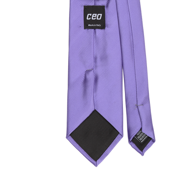 CEO Made In Italy Tie in Lilac - Ron Bennett Menswear  - 2