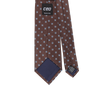 CEO Made In Italy Tie in Brown - Ron Bennett Menswear  - 2
