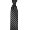 CEO Made In Italy Tie in Black