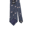 CEO Made In Italy Tie in Navy Dog - Ron Bennett Menswear  - 2