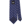 CEO Made In Italy Tie in Navy Flower - Ron Bennett Menswear  - 2
