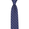 CEO Made In Italy Tie in Navy Flower - Ron Bennett Menswear  - 1