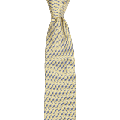 CEO Made In Italy Tie in Gold - Ron Bennett Menswear  - 1