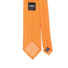 CEO Made In Italy Tie in Orange - Ron Bennett Menswear  - 2