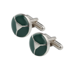Ron Bennett Cufflinks in Green
