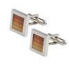 Ron Bennett Cufflinks in Brown - Ron Bennett Menswear  - 1