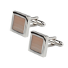 Ron Bennett Cufflinks in Beige - Ron Bennett Menswear  - 1