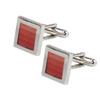 Ron Bennett Cufflinks in Red - Ron Bennett Menswear  - 1