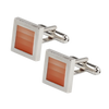 Ron Bennett Cufflinks in Orange - Ron Bennett Menswear  - 1