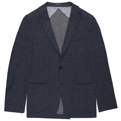 "CEO ""Mikey"" Unlined Jacket in Navy"
