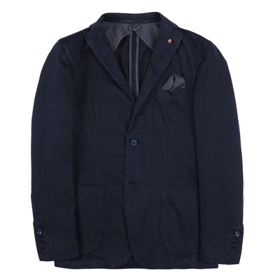 Jerry Key Cotton Sport Jacket in Dark Blue