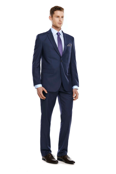Bell & Barnett Slim Fit Suit in Navy - Ron Bennett Menswear  - 1