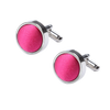 Ron Bennett Cufflinks in Fuchsia - Ron Bennett Menswear  - 1