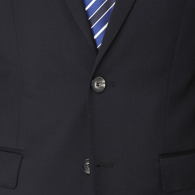 Hugo Boss James / Sharp Suit in Dark Blue - Ron Bennett Menswear  - 5