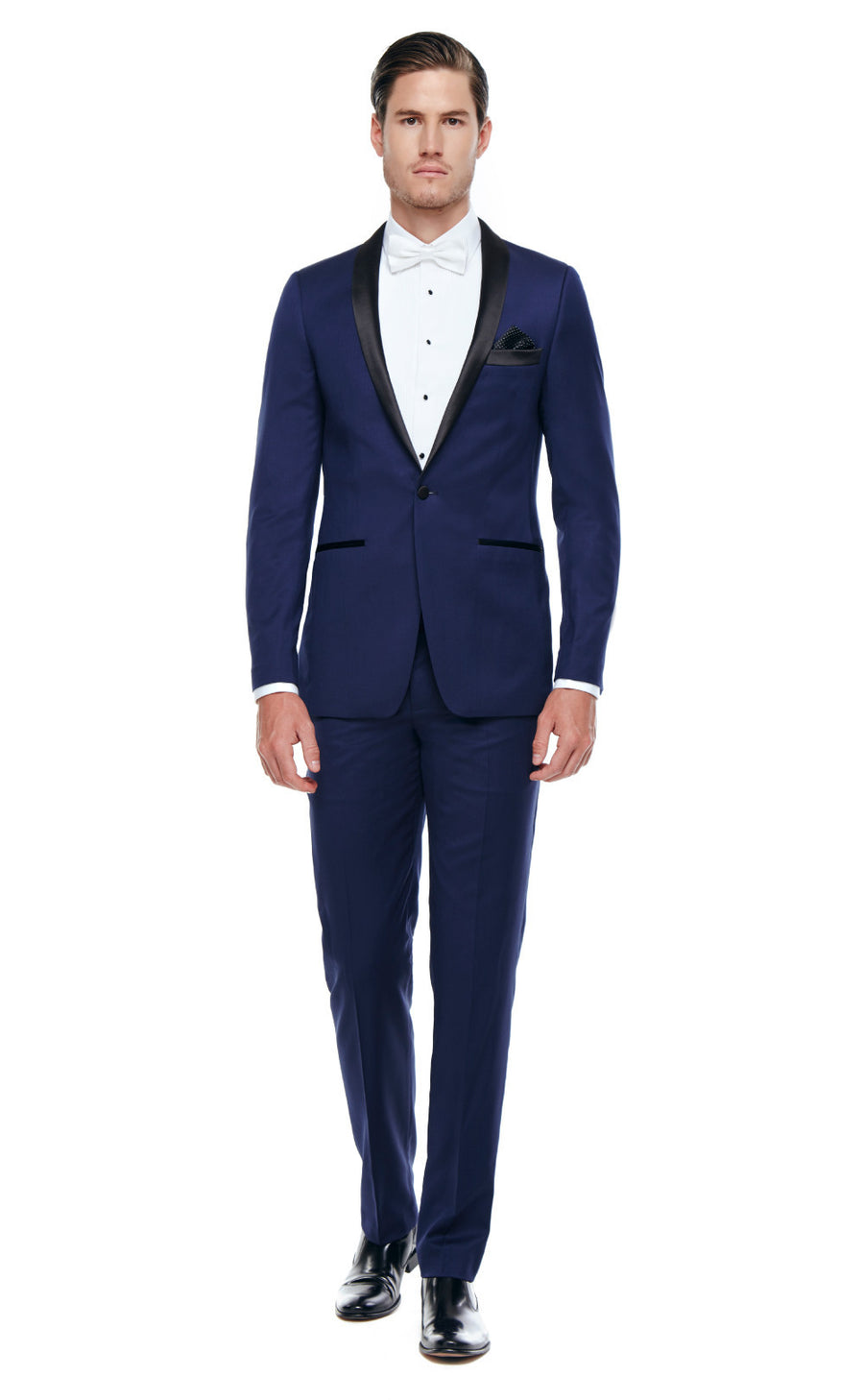 Axel Navy Slim fit Wool Tuxedo