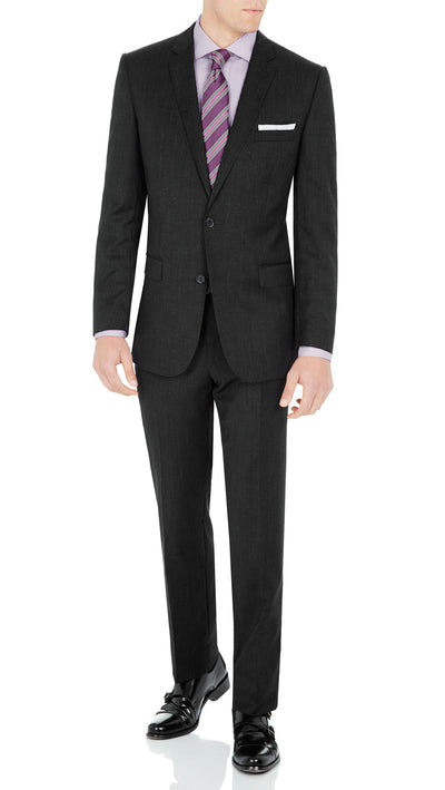 "#GOFORMAL Designer ""Icon"" Suit in Charcoal - Ron Bennett Menswear  - 1"