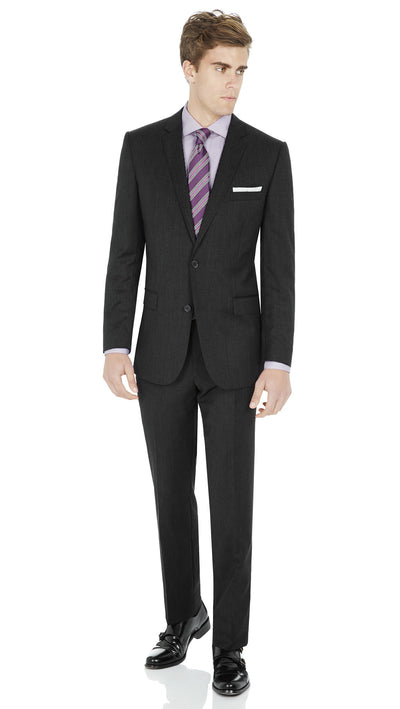 "#GOFORMAL Designer ""Icon"" Suit in Charcoal - Ron Bennett Menswear  - 2"