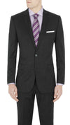 Studio Italia Icon Suit in Charcoal - Ron Bennett Menswear  - 3