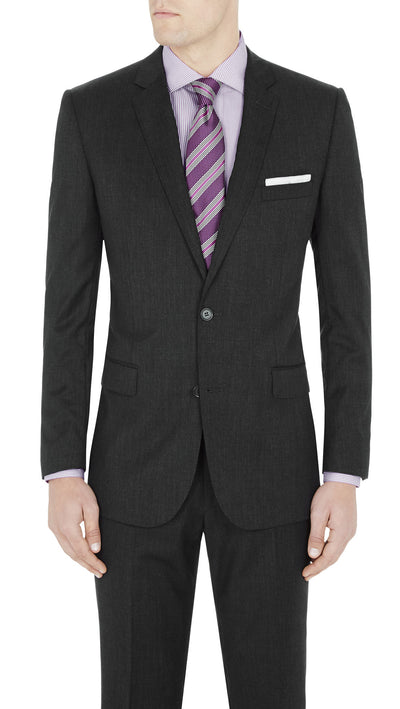 "#GOFORMAL Designer ""Icon"" Suit in Charcoal - Ron Bennett Menswear  - 3"