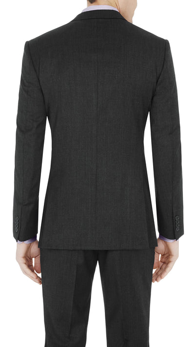 "#GOFORMAL Designer ""Icon"" Suit in Charcoal - Ron Bennett Menswear  - 4"