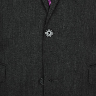 "#GOFORMAL Designer ""Icon"" Suit in Charcoal - Ron Bennett Menswear  - 5"