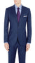 Studio Italia Cool Wool Suit in Blue
