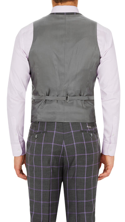 """Carl Fox"" Vest by Sew253 - Ron Bennett Menswear  - 2"