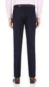 Blackjacket Skinny Fit Suit in Blue Birdseye - Ron Bennett Menswear  - 7