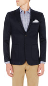 CEO half lined Stretch Jacket in Navy - Ron Bennett Menswear  - 3
