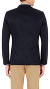 CEO half lined Stretch Jacket in Navy - Ron Bennett Menswear  - 4