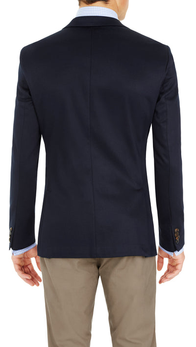 CEO half lined Stretch Jacket in Navy - Ron Bennett Menswear  - 7