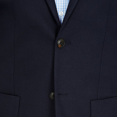 CEO half lined Stretch Jacket in Navy - Ron Bennett Menswear  - 9