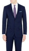 James Derby Slim Fit Suit in Blue