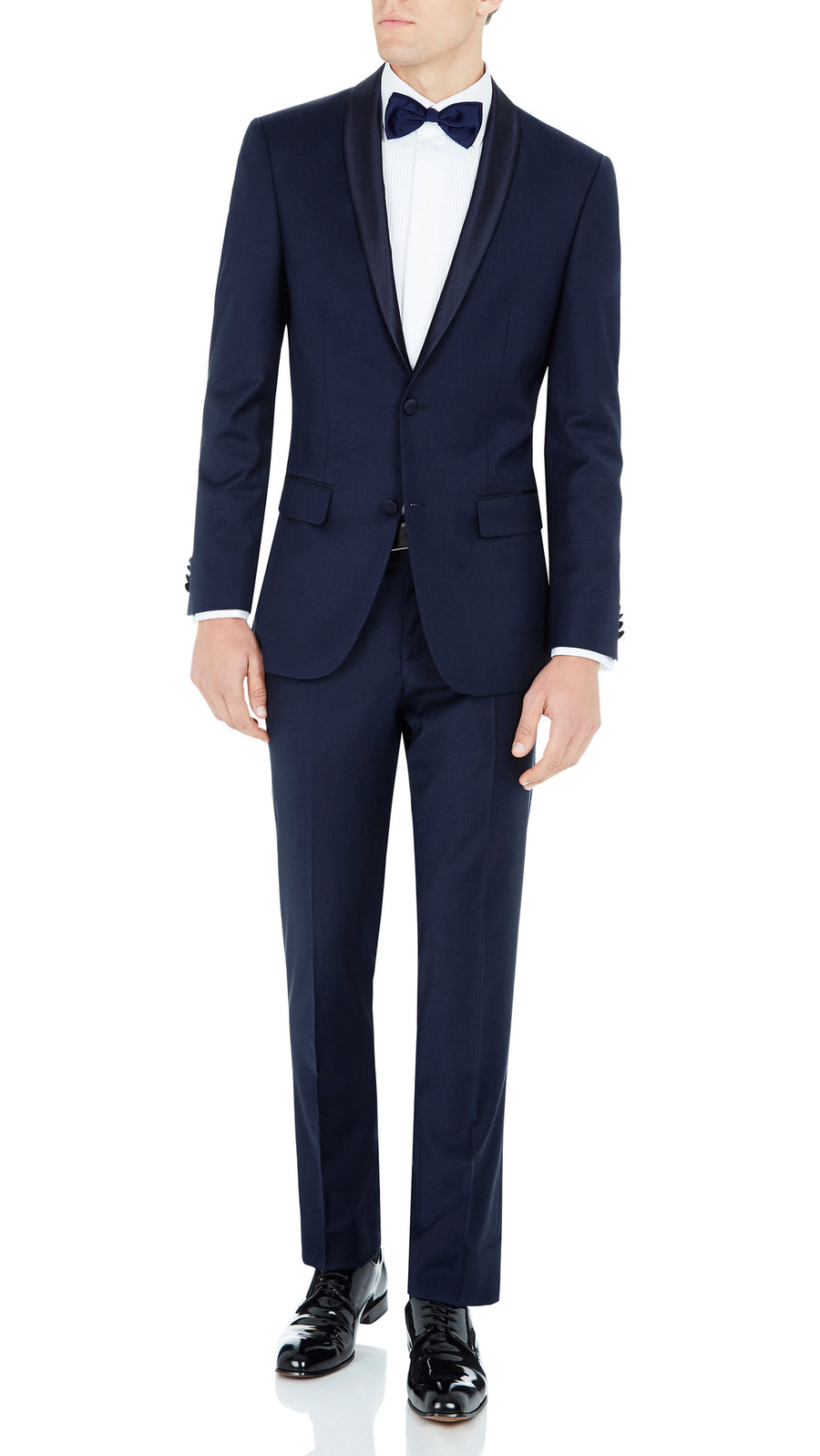 Bennett Signature Two Piece Dinner Suit in Blue
