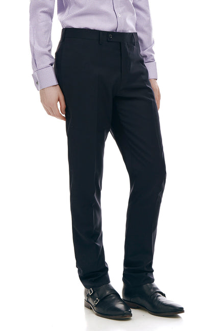 Jackson Black Slim Fit Wool Suit