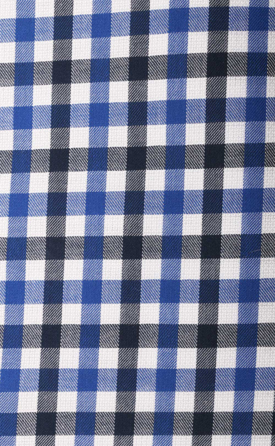 Conan Navy Check Cotton Shirt