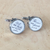 Personalised cuff links for Groom and Groomsmen