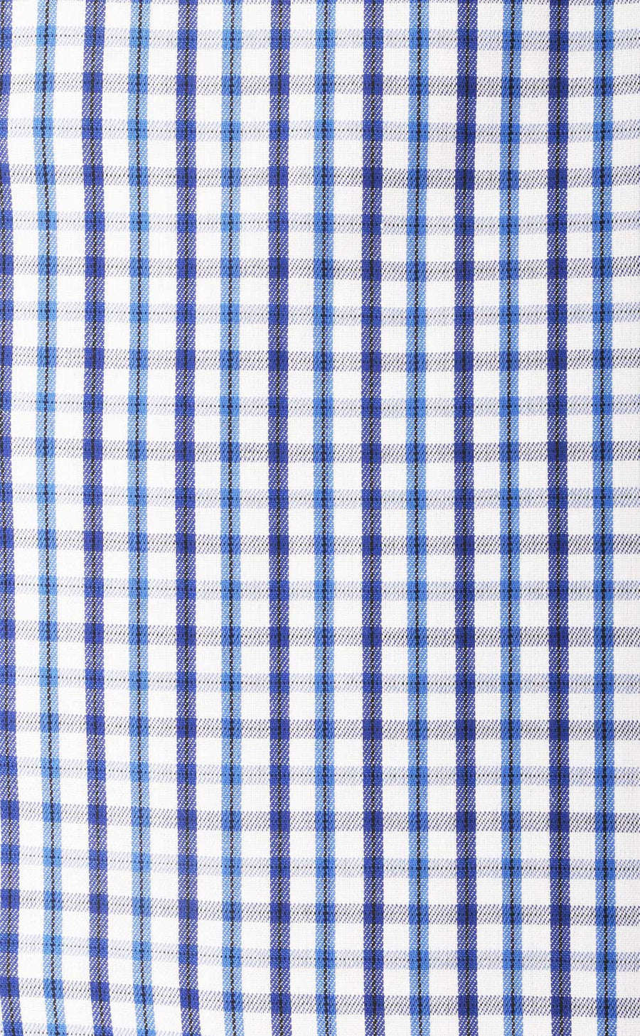 Mitchell Blue Check Cotton Shirt