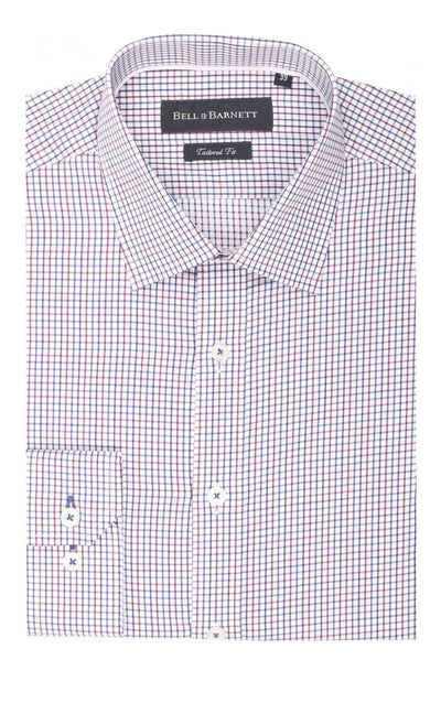 Oliver Red Check Cotton Shirt