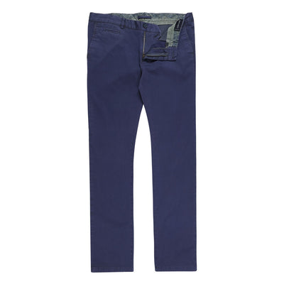 Bennett Stretch Washed European Cotton Chino in Royal Blue