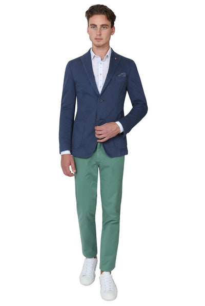 Bennett Stretch Washed European Cotton Chino in Mint