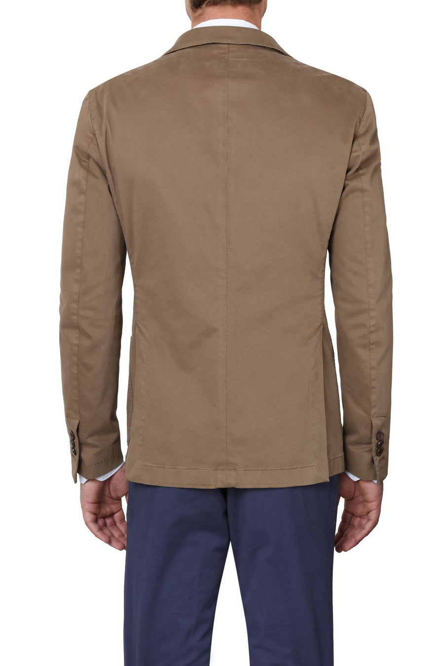 Jerry Key Cotton Sport Jacket in Khaki